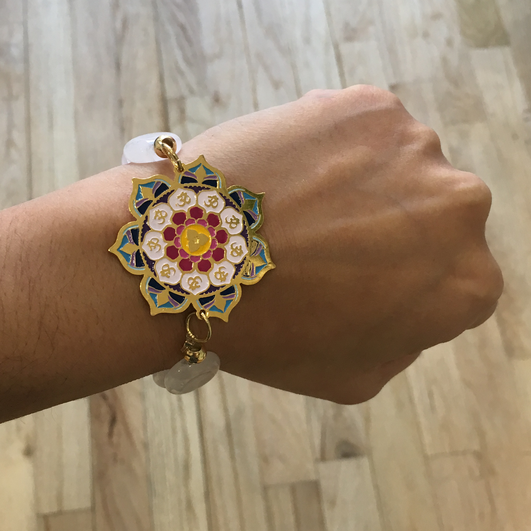ml products mandala bracelet