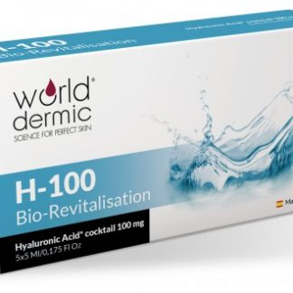 World Dermic H-100 Bio-Revitalisation | Hyaluronic Acid | Anti-Aging