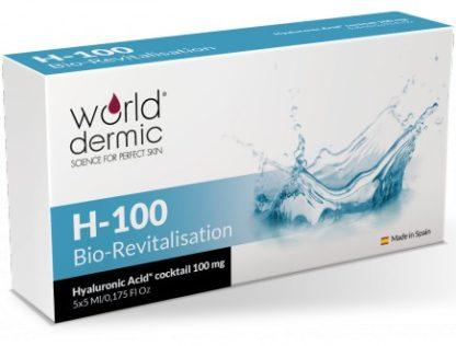 World Dermic H-100 Bio-Revitalisation | Hyaluronic Acid | Anti-Aging