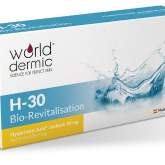 World Dermic H-30 Bio-Revitalisation | Hyaluronic Acid