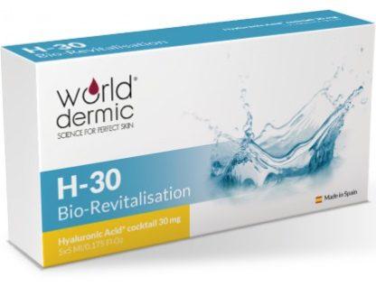World Dermic H-30 Bio-Revitalisation | Hyaluronic Acid
