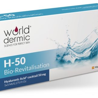 World Dermic H-50 Bio-Revitalisation | Hyaluronic Acid