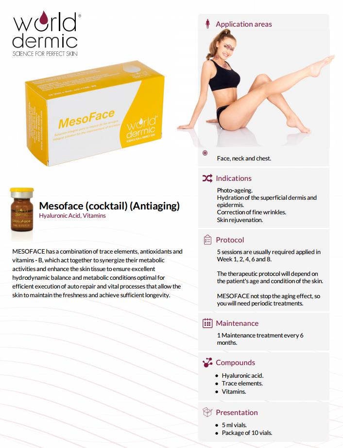 MesoFace World Dermic Anti-Aging Treatment