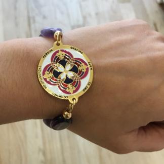 Mandala Bracelet Ho'ponopono - Handmade