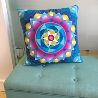 Mandala Throw Pillow | Calm, Tranquility