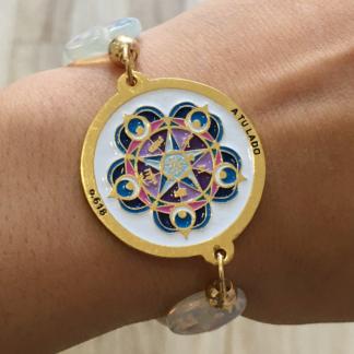 Mandala Bracelet Protection