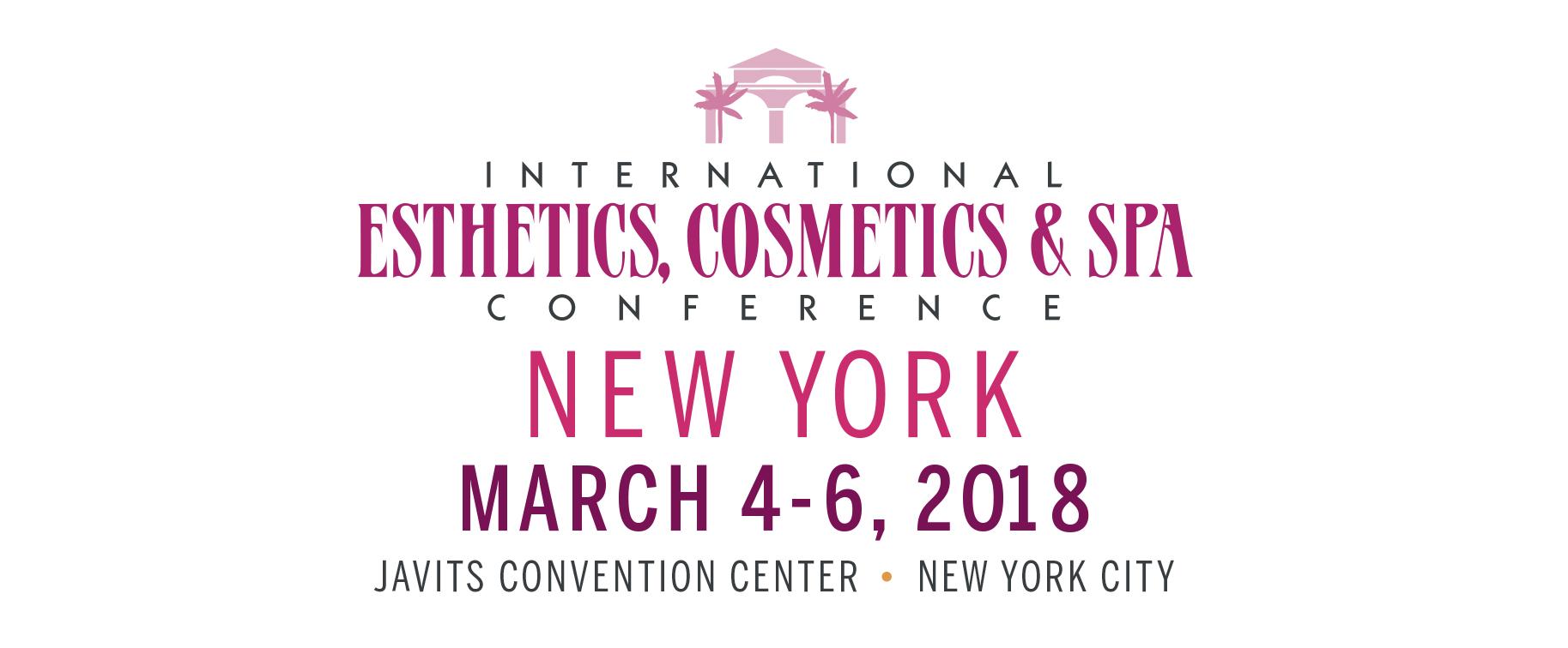 International Esthetics, Cosmetics & Spa Conference New York 2018